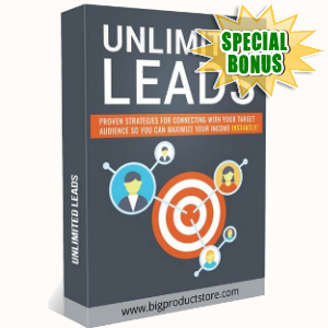 Special Bonuses - July 2018 - Unlimited Leads