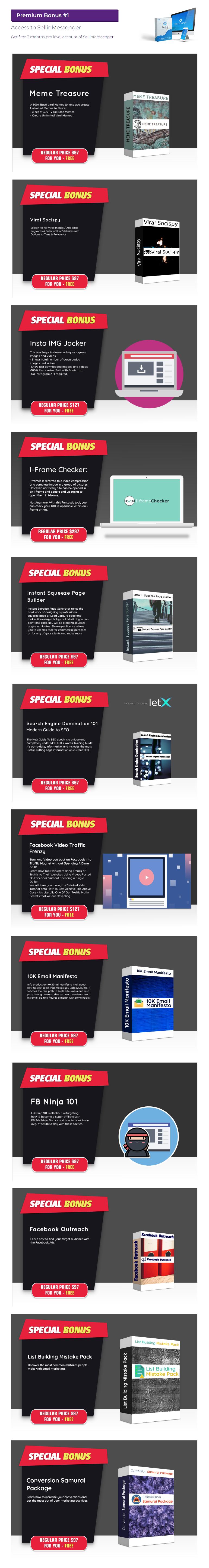 LetSetCom Bonuses