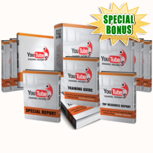 Special Bonuses - August 2018 - YouTube Channel Income