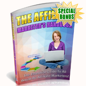 Special Bonuses - August 2018 - The Affiliate Marketer's Handbook