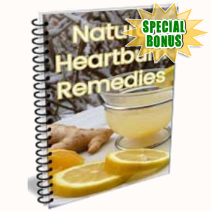 Special Bonuses - August 2018 - Natural Heartburn Remedies