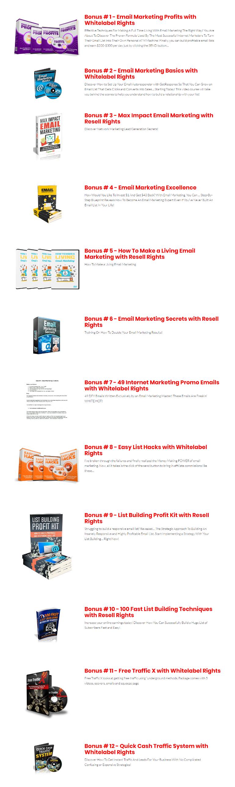 MailScriptX Bonuses
