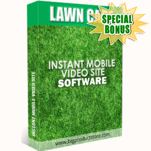Special Bonuses - September 2018 - Lawn Care Instant Mobile Video Site Software