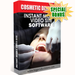 Special Bonuses - September 2018 - Cosmetic Dentistry Instant Mobile Video Site Software
