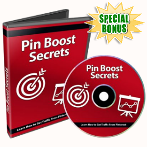 Special Bonuses - September 2018 - Pin Boost Secrets Video Series Pack