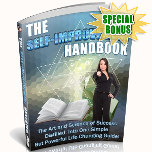 Special Bonuses - September 2018 - The Self-Improvement Handbook