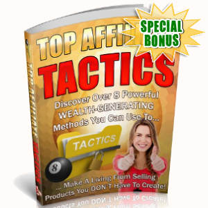 Special Bonuses - September 2018 - Top Affiliate Tactics