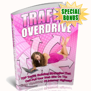 Special Bonuses - September 2018 - Traffic Overdrive