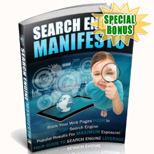 Special Bonuses - September 2018 - Search Engine Manifesto