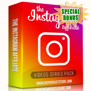 Special Bonuses - September 2018 - The Instagram Affiliate Video Series Pack