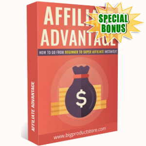 Special Bonuses - October 2018 - Affiliate Advantage