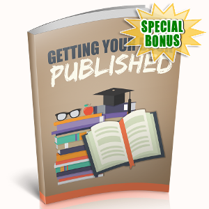 Special Bonuses - October 2018 - Getting Your Book Published