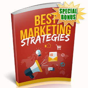 Special Bonuses - October 2018 - Best Marketing Strategies