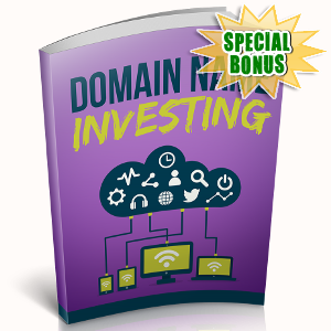 Special Bonuses - October 2018 - Domain Name Investing
