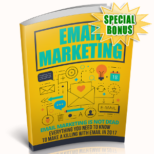 Special Bonuses - October 2018 - Email Marketing