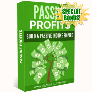 Special Bonuses - October 2018 - Passive Profits