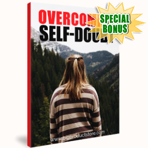Special Bonuses - October 2018 - Overcoming Self-Doubt Article
