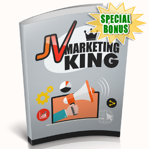 Special Bonuses - October 2018 - JV Marketing King