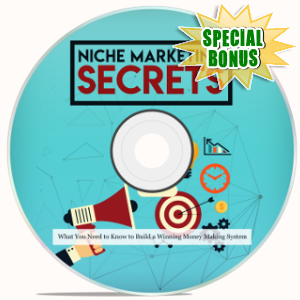 Special Bonuses - November 2018 - Niche Marketing Video Upgrade Pack