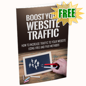 Special Bonuses - November 2018 - Boost Your Website Traffic