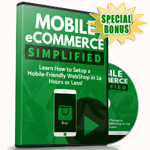 Special Bonuses - December 2018 - Mobile eCommerce Simplified Video Pack