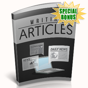 Special Bonuses - December 2018 - Writing Articles