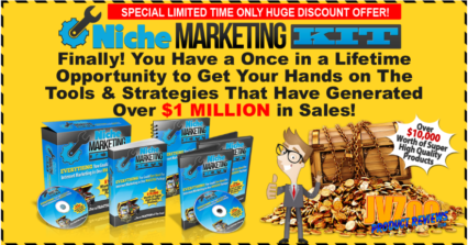 The Niche Marketing Kit 2019 Review and Bonuses