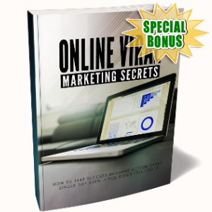 Special Bonuses - January 2019 - Online Viral Marketing Secrets Pack