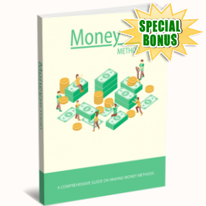 Special Bonuses - January 2019 - Money Method