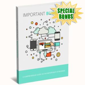 Special Bonuses - January 2019 - Important Business