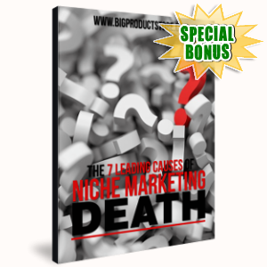 Special Bonuses - January 2019 - The 7 Leading Causes Of Niche Marketing Death