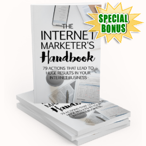 Special Bonuses - February 2019 - The Internet Marketer's Handbook Pack