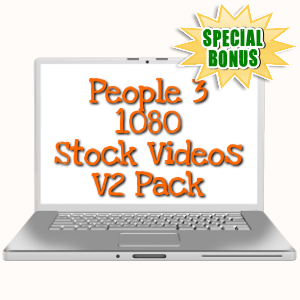Special Bonuses - February 2019 - People 3 - 1080 Stock Videos V2 Pack