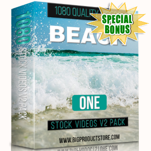 Special Bonuses - March 2019 - Beach 1 - 1080 Stock Videos V2 Pack