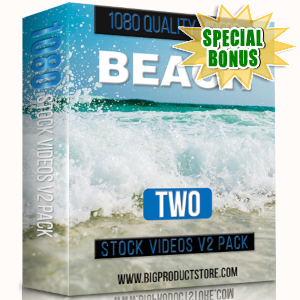 Special Bonuses - March 2019 - Beach 2 - 1080 Stock Videos V2 Pack