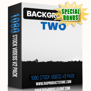 Special Bonuses - March 2019 - Backgrounds 2 - 1080 Stock Videos V2 Pack