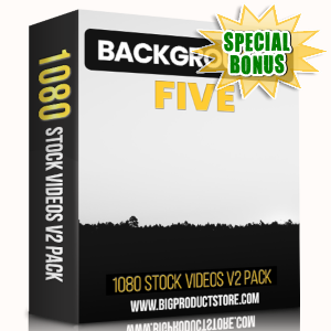 Special Bonuses - March 2019 - Backgrounds 5 - 1080 Stock Videos V2 Pack