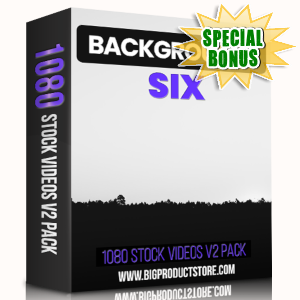 Special Bonuses - March 2019 - Backgrounds 6 - 1080 Stock Videos V2 Pack