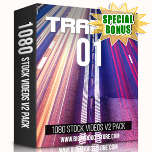 Special Bonuses - March 2019 - Traffic 1 - 1080 Stock Videos V2 Pack