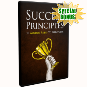 Special Bonuses - March 2019 - Success Principles Video Upgrade Pack
