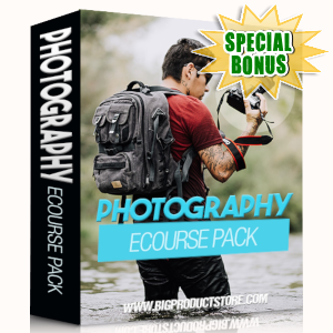 Special Bonuses - April 2019 - Photography Ecourse Pack