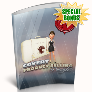 Special Bonuses - April 2019 - Convert Product Selling Principles Pack