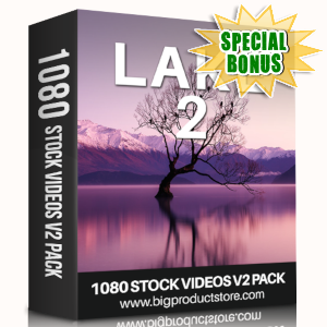 Special Bonuses - May 2019 - Lake 2 - 1080 Stock Videos V2 Pack