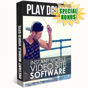 Special Bonuses - May 2019 - Play Drums Instant Mobile Video Site software