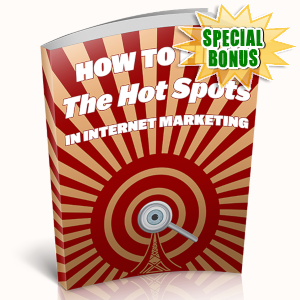 Special Bonuses - May 2019 - Hot Niche Trends For Future IM