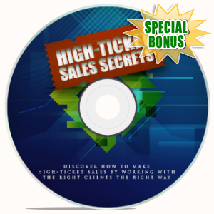 Special Bonuses - May 2019 - High-Ticket Sales Secrets Video Upgrade Pack