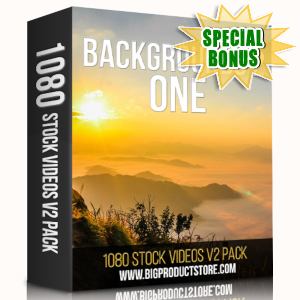 Special Bonuses - May 2019 - Backgrounds 2 - 1 - 1080 Stock Videos V2 Pack