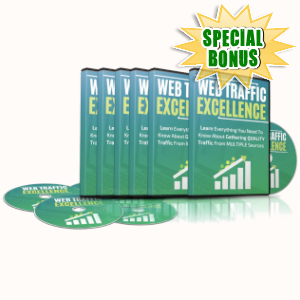 Special Bonuses - May 2019 - Web Traffic Excellence Video Series Pack