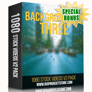 Special Bonuses - May 2019 - Backgrounds 2 - 3 - 1080 Stock Videos V2 Pack