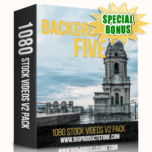 Special Bonuses - May 2019 - Backgrounds 2 - 5 - 1080 Stock Videos V2 Pack